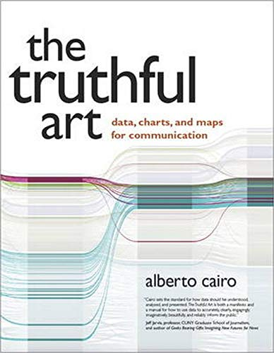 """Cover of the book """"The Truthful Art: data, Charts, and Maps for Communication"""""""