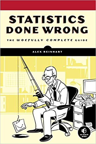 """Cover of the book """"Statistics Done Wrong"""""""