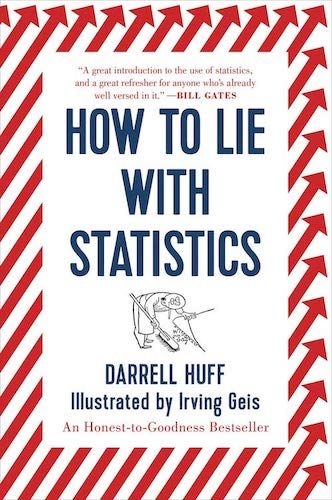 """Cover of the book """"How to Lie with Statistics"""""""