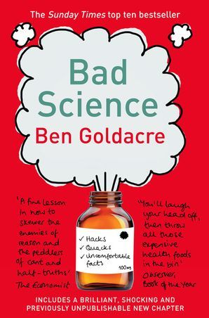 """Cover of the book """"Bad Science"""""""
