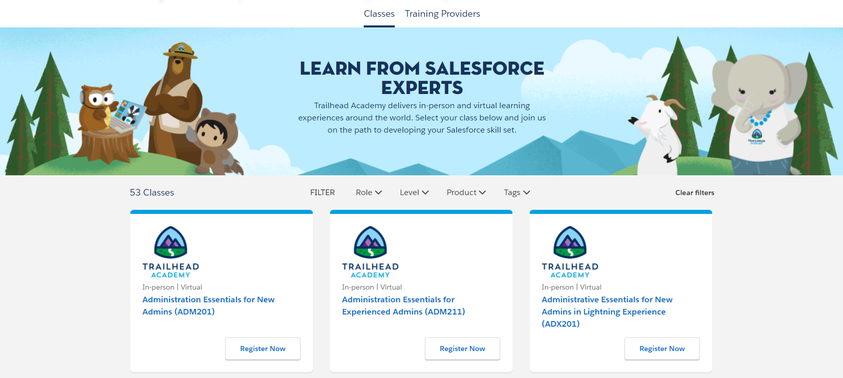 Salesforce Trailhead Academy
