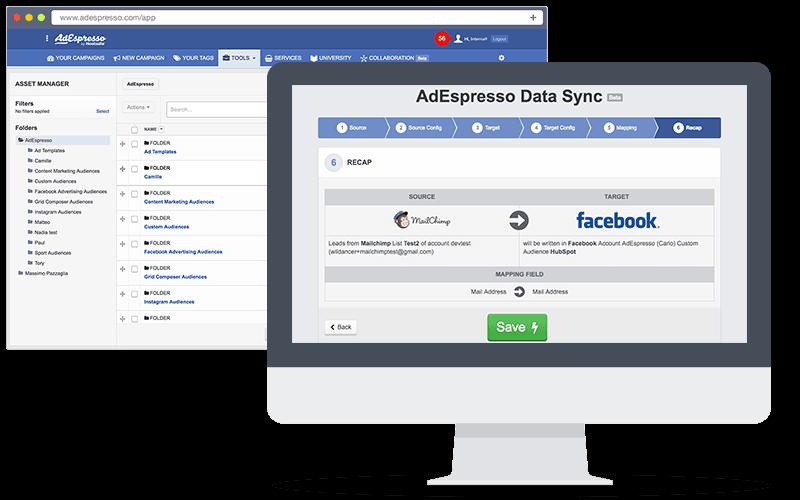 AdEspresso platform