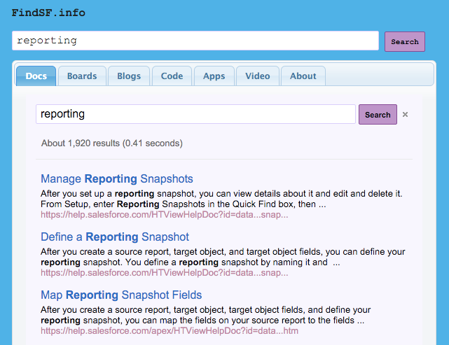 Salesforce-specific-search-tool-screenshot
