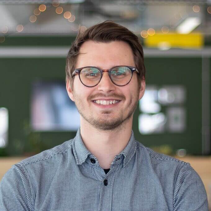 Photo of Nils Herrmann, Acquisition Manager at Geckoboard